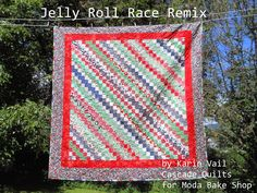 Moda Bake Shop: Jelly Roll Race Remix Quilt