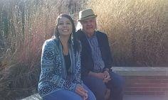 Gretchen Carroll and Gary Farmer