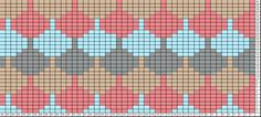 Tapestry Crochet Patterns, Intarsia Patterns, Crochet Stitches, Knitting Charts, Free Knitting, Knitting Patterns, Fair Isle Knitting, Plastic Canvas Patterns, Vintage Knitting