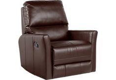 Congress Street Brown Rocker Recliner . $349.99. 33W x 39D x 41H. Find affordable Recliners for your home that will complement the rest of your furniture.