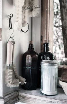 Our new cottage is plastic-free and we use organic cleaning products to protect our fragile environment. Organic Cleaning Products, Wings, Mindfulness, Plastic, Bottle, Free, Flask, Feathers, Feather