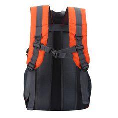 Yosoo 6 Colors 40L Waterproof Backpack Shoulder Bag For Outdoor Sports  Climbing Camping Hiking, Travel Backpack, Climbing Bag(orange) b5acb113d2
