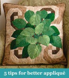 5 tips for better applique
