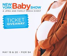Win 1 of 10 tickets to the 2018 New York Baby Show on May 19 & 20 in NYC!