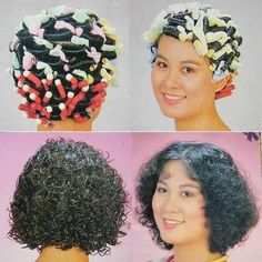 カーラーフェチ・パーマフェチ・顔パックフェチの掲示板 - 81~90件目 Asian Perm, Tight Curls, Roller Set, Perms, Curlers, Curled Hairstyles, Hair Beauty, Hair Styles, Color