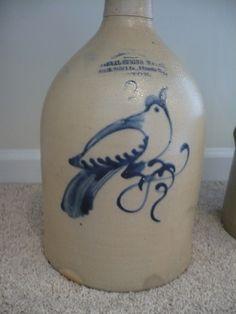 Stoneware Jug from Al Behr