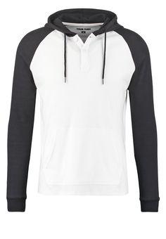 YOUR TURN Langarmshirt white/black Bekleidung bei Zalando.de | Material Oberstoff: 60% Baumwolle, 40% Polyester | Bekleidung jetzt versandkostenfrei bei Zalando.de bestellen!