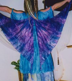 Purple Silk gypsy wings