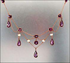 Necklace, ca. 1900 <3