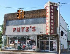 Putz Hardware (still open) in Bay City, MI