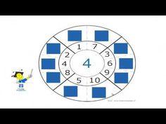 Verliefde getallen (2 getallen zijn samen 10) - YouTube