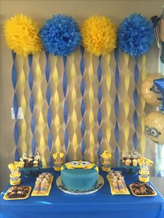21 best birthday party themes not only for kids Minions birthday