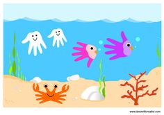 Lavoretti estate   Fondale marino