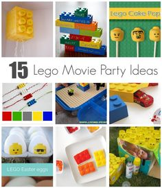 15 Lego Movie Party Ideas - great for library programs too! #tlchat