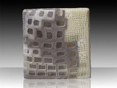 """BILLET 08 #9""""  Giles Bettison  Murrini Glass"""