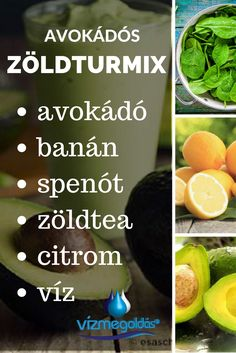 Az élet itala: zöld turmix – recept kezdőknek - kattints a képre és olvasd el a teljes cikket! Healthy Drinks, Healthy Snacks, Healthy Recipes, Smoothie Bowl, Smoothies, Vegas, Eating Habits, Healthy Lifestyle, Nalu