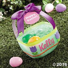 Milk Jug Easter Basket Idea