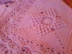 Ravelry: Project Gallery for Smitten Blanket pattern by Haafner