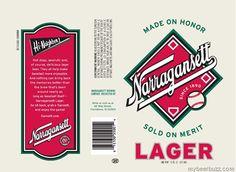 narragansett beer father day tie
