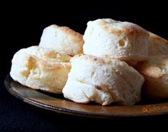 gluten free biscuits on plate