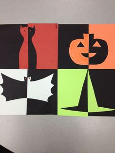 1st grade art projects for halloween - Google Search