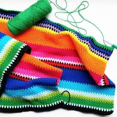 During the week I was asked by my fiance (don't know why I don't like using that word, sounds odd and posh to me lol), if I could make him a Mexican Blanket… so I google and fell …
