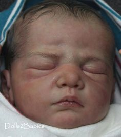 DOLLS2BABIES  Reborn/Newborn baby doll Casper by Christa Gotzen