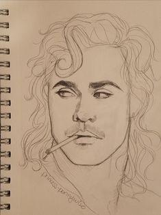 things sketch to draw ; things to sketch ; things to sketch easy Cool Art Drawings, Pencil Art Drawings, Art Drawings Sketches, Easy Drawings, Sketch Art, Stranger Things Quote, Eleven Stranger Things, Arte Sketchbook, Celebrity Drawings