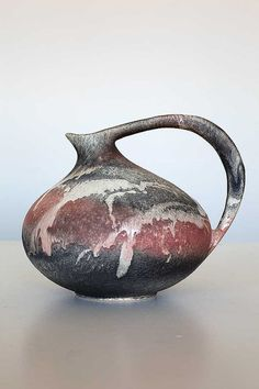 Iconic vase 313 Ruscha Keramik West German Pottery by Sceramic