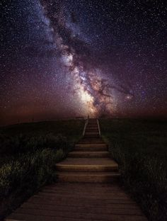Stairway to the Galaxy; by Aaron J. Groen