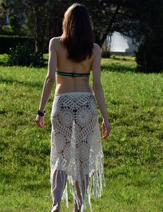 Boho crochet skirt PATTERN detailed TUTORIAL in door CONCEPTcreative