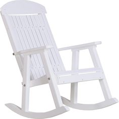Nice LuxCraft Classic Highback Recycled Plastic Rocking Chair