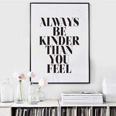 Be kinder than you feel. (AKA Curb your crankiness and respond vs. react = lesson for today.) Inspo from @_thebalancingact_ #regramlove #kindness #iamwellandgood by wellandgoodnyc
