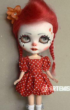 Little Clown #20.1 by Art_emis, via Flickr