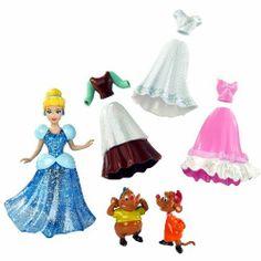 Disney Precious Princess Cinderella Sparkly FashionsIncludes: Cinderalla Doll, 4 interchangable outfits, and mice friends! Includes: Cinderalla Doll, 4 interchangable outfits, and mice friends! Disney Princess Doll Collection, Princess Toys, Disney Princess Cinderella, Cinderella Doll, Cinderella Theme, Doll Birthday Cake, Sparkly Outfits, Disney Animator Doll, Disney Toys