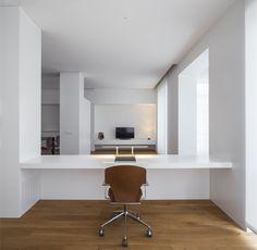 #House #Interiors #Minimal #White #AllWhite #Stua #DotPartners  #Viabizzuno #Valencia