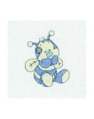 Anchor Tatty Teddy and my Blue Nose Friends - Honey Cross Stitch Kit