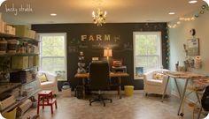 Farmgirl Paints: my studio