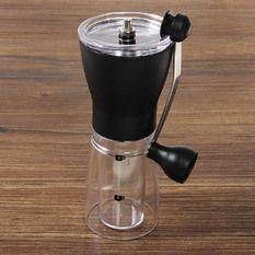 Ceramic Slim Mill Manual Coffee Bean Hand Grinder Kitchen Coffee Portable Tool