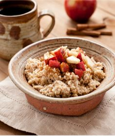 Slow Cooker Oatmeal with dates, raisins, figs, and nuts