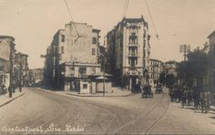 Harbiye Old Pictures, Old Photos, Istanbul Pictures, Art With Meaning, Past Tense, Ottoman Empire, Historical Pictures, Once Upon A Time, Old Town