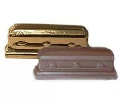 Chocolate casket