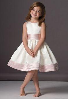 Vestidos para Niñas Damas de Honor | Peinados y Tendencias