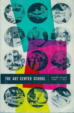 VINTAGE KIDS BOOK The Art Center School General Catalog 1956 – 1957