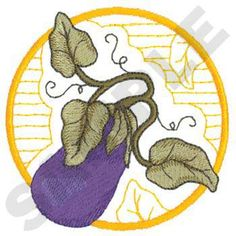 Fruits & Vegetables Embroidery Designs by Dakota Collectibles on a ...