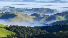 Pousada Quinta da Serra Amanhecer entre montanhas