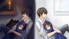 So sad ( .___.) Reminds me of the ending with Yuka on the other side of the door talking to Satoshi
