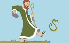 What's behind the legend of St. Patrick banishing snakes from Ireland.