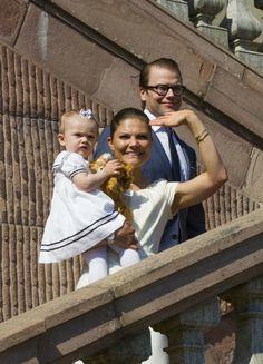 crown princess victoria, prince daniel and princess estelle