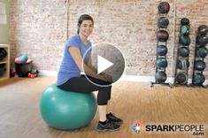 Today's Video: Intro to the Stability Ball